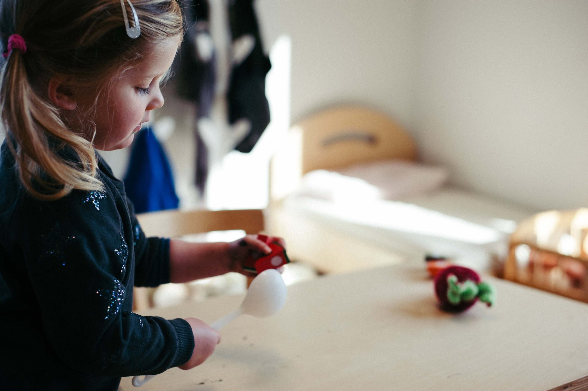 children enjoying creative play at royals early learning centre